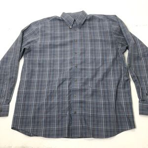 Men's Size XLT Eddie Bauer Relaxed Fit Shirt